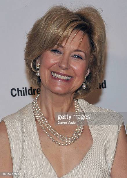 Television personality Jane Pauley attends the 2010 Children's Health Fund Benefit Gala at The Hilton New York on June 2 2010 in New York City