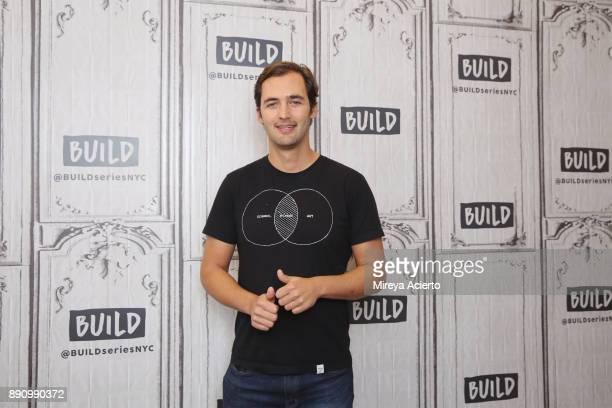 Television personality Jason Silva visits Build Studio on December 12 2017 in New York City
