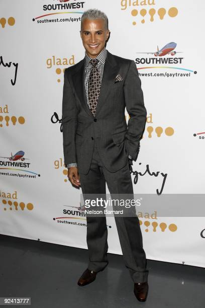 Television personality Jay Manuel attends the 2009 GLAAD Media Awards at New World Stages on October 27 2009 in New York City