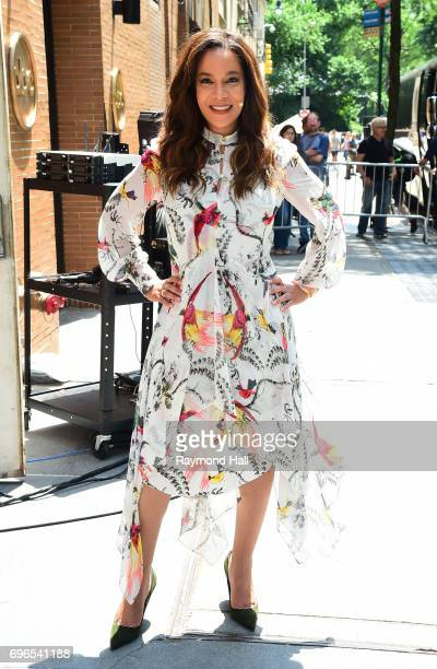 Television personality Jedediah Bila enters the 'View' taping at the ABC Lincoln Center Studios on June 15 2017 in New York City