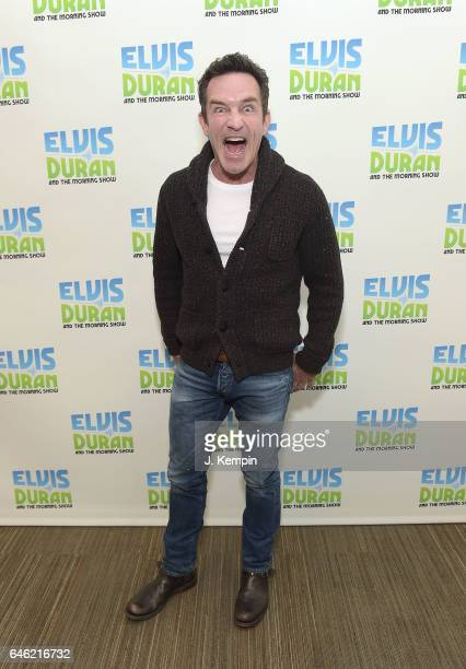 Television personality Jeff Probst visits The Elvis Duran Z100 Morning Show at Z100 Studio on February 28 2017 in New York City