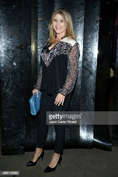 Television Personality Jenna Bush Hager seen around Skylight at Moynihan Station during Spring 2016 New York Fashion Week The Shows on September 13...