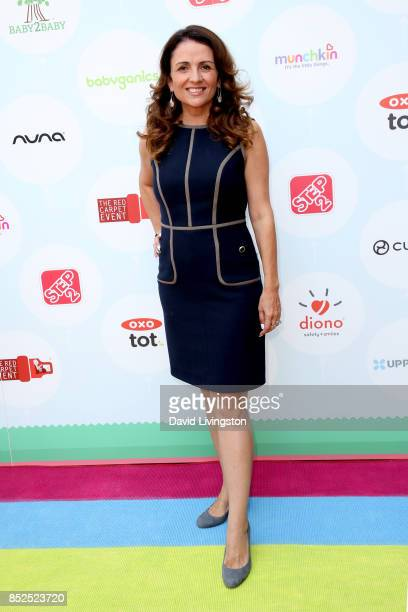 Television personality Jenni Pulos attends the 6th Annual Celebrity Red CARpet Safety Awareness Event at Sony Studios Commissary on September 23 2017...