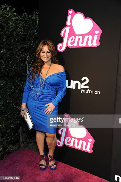 Television personality Jenni Rivera arrives at Jenni Rivera's I Love Jenni Latin Celebrity Reality Show Red Carpet Launch Party at My House on March...