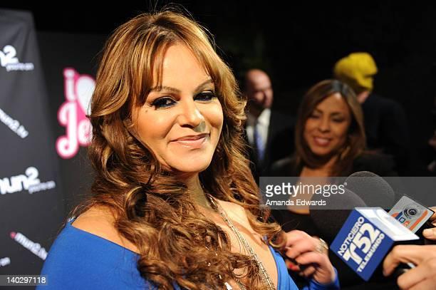 Television personality Jenni Rivera arrives at Jenni Rivera's 'I Love Jenni' Latin Celebrity Reality Show Red Carpet Launch Party at My House on...