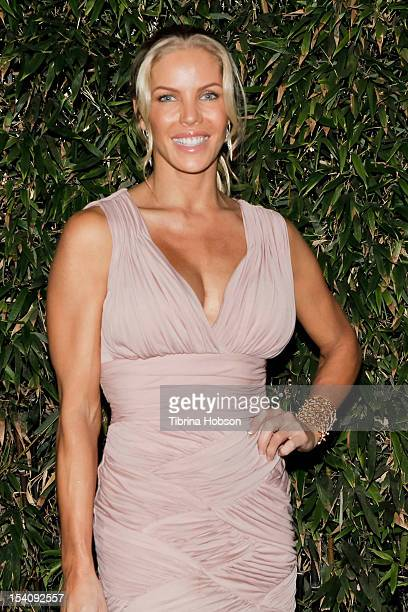 Television personality Jessica Canseco attends the Animal Defenders International gala on October 13 2012 in Hollywood California