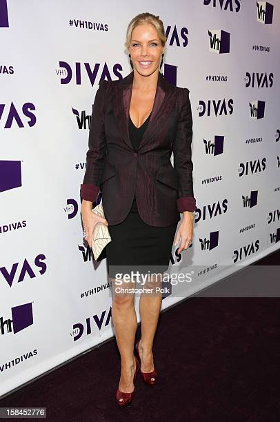 Television personality Jessica Canseco attends VH1 Divas 2012 at The Shrine Auditorium on December 16 2012 in Los Angeles California