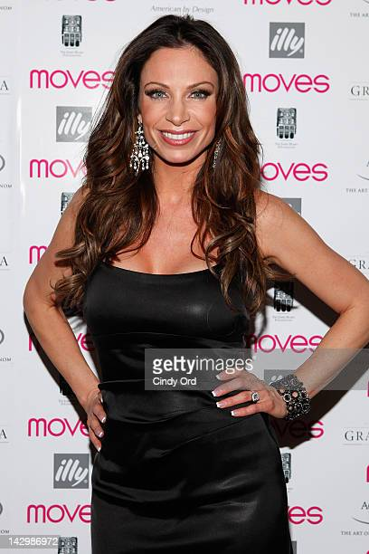 Television personality Jill Nicolini attends Moves' 2012 Spring Fashion Issue Event And Personal Chef 5 at Casa Nonna on April 16 2012 in New York...