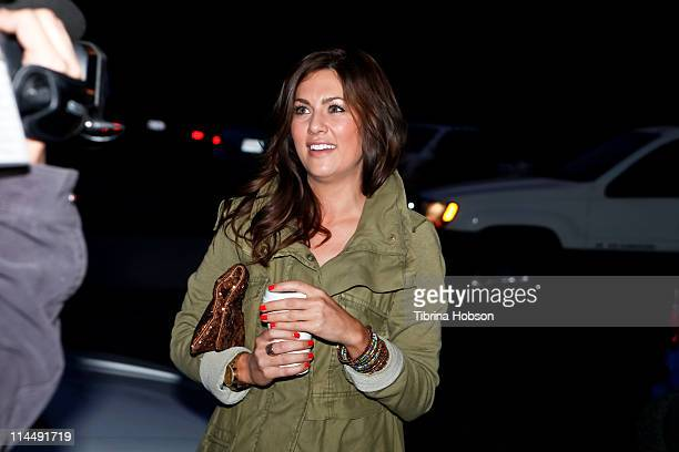 "Television Personality Jillian Harris arrives to ABC's ""Extreme Makeover: Home Edition"" Benefiting Habitat For Humanity Los Angeles on May 21, 2011..."