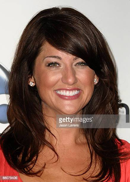 Television personality Jillian Harris attends the DATG summer press junket at ABC's Riverside Building on May 30, 2009 in Burbank, California.