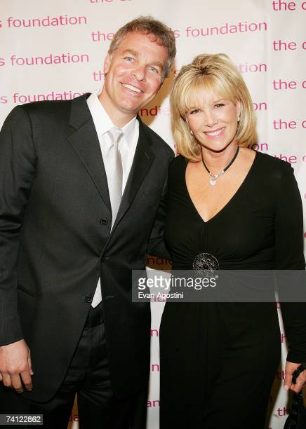 Television personality Joan Lunden and husband Jeff Konigsberg attend the 4th Annual ''Event To Prevent'' dinner and auction to benefit The Candie's...
