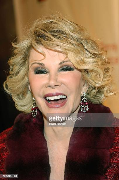 Television personality Joan Rivers attends the opening of the JCPenney Experience on March 2 2006 in New York City