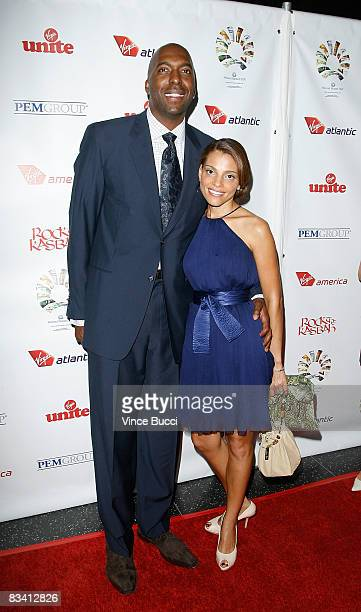 Television personality John Salley and his wife attend the Rock The Kasbah fundraising gala benefitting Sir Richard Branson's Virgin Unite foundation...