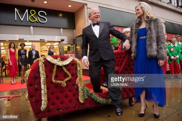 Television personality John Sergeant officially opens the latest Penny Sale at the Marks and Spencer flagship store on Oxford Street in London on...