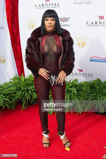 Television personality Joseline Hernandez attends the 2016 Trumpet Awards on January 23 2016 in Atlanta Georgia