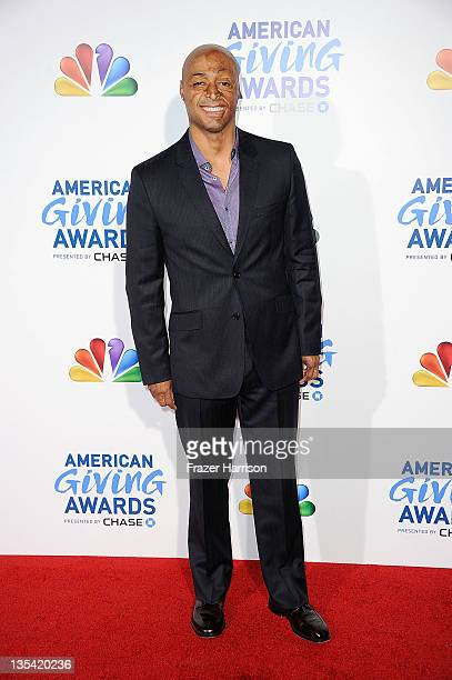 Television personality JR Martinez arrives at the American Giving Awards Presented By Chase at Dorothy Chandler Pavilion on December 9, 2011 in Los...