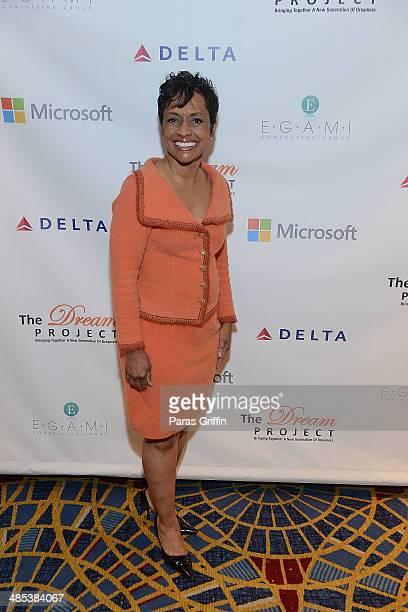 Television personality Judge Glenda Hatchett attends the 2014 Dream Project Symposium at Atlanta Marriot Marquis on April 17 2014 in Atlanta Georgia