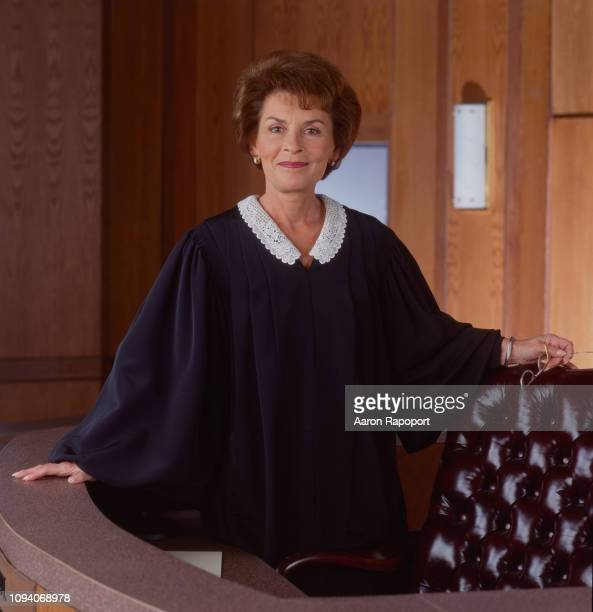 Television personality Judge Judy aka Judy Sheindlin poses for a portrait in Los Angeles California