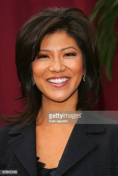 Television personality Julie Chen attends the CBS Upfront Presentation at Tavern On The Green May 17 2006 in New York City