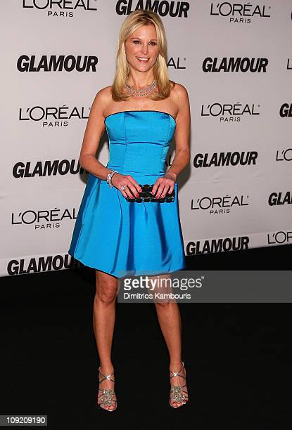 Television personality Juliet Huddy attends The Glamour Magazine 2007 Women of The Year Awards at Lincoln Center's Avery Hall on November 5 2007 in...