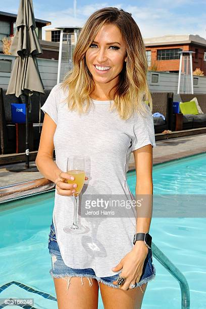 Television personality Kaitlyn Bristowe visits Hard Rock Hotel San Diego on November 12 2016 in San Diego California