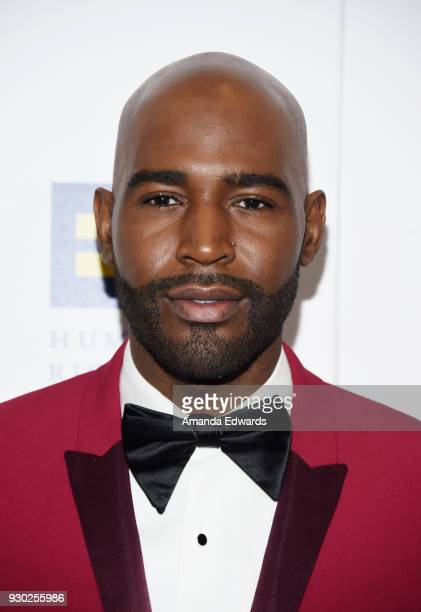 Television personality Karamo Brown arrives at the Human Rights Campaign's 2018 Los Angeles Gala Dinner at the JW Marriott Los Angeles at L.A. LIVE...