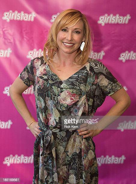 Television personality Kari Byron poses during the Girlstart Game Changers Annual Luncheon at the ATT Conference Center on October 17 2013 in Austin...