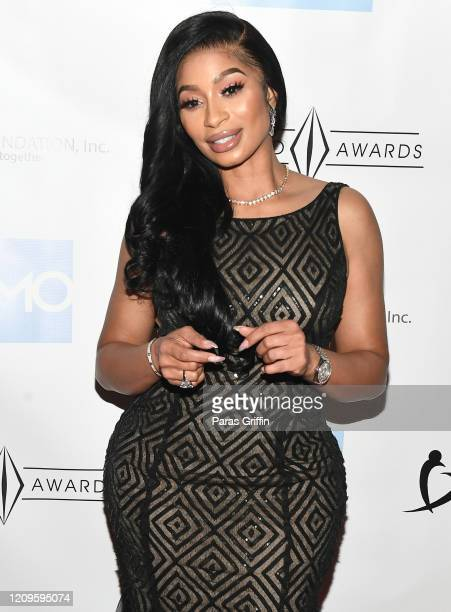Television personality Karlie Redd attends 6th Annual Diamond Awards at Morehouse College - Ray Charles Performing Arts Center on February 29, 2020...