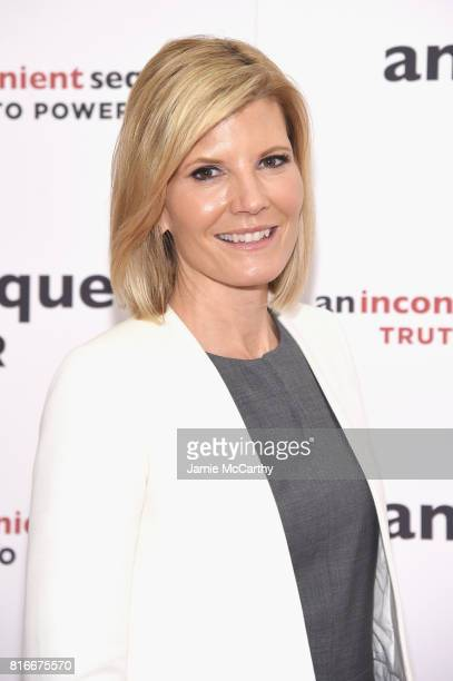 Television personality Kate Snow attends the An Inconvenient Sequel Truth To Power New York Screening at the Whitby Hotel on July 17 2017 in New York...