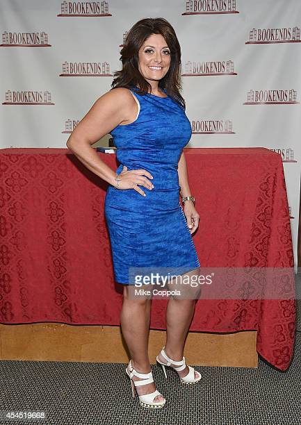 Television personality Kathy Wakile poses for a picture at Bookends Bookstore on September 2 2014 in Ridgewood New Jersey