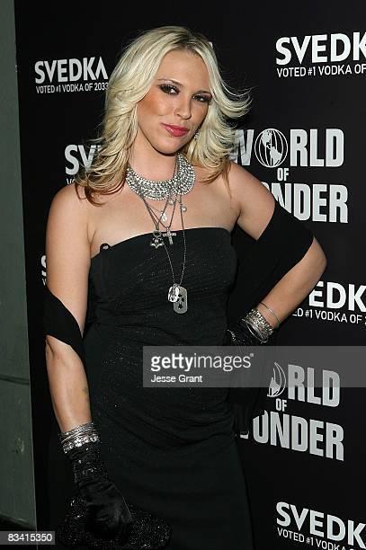 Television personality Kayley Gable arrives at the Svedka Vodka Presents Hollywood DCLights Camera Election held at World Of Wonder Storefront...