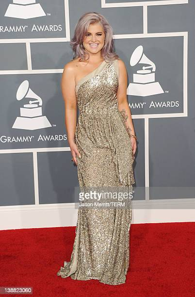 Television personality Kelly Osbourne arrives at the 54th Annual GRAMMY Awards held at Staples Center on February 12, 2012 in Los Angeles, California.