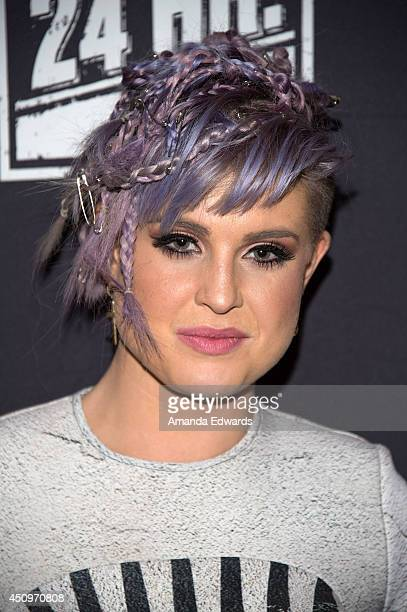 Television personality Kelly Osbourne arrives at the afterparty for the 4th annual production of The 24 Hour Plays In Los Angeles benefitting Urban...