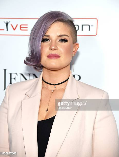 Television personality Kelly Osbourne attends the launch of Jennifer Lopez's residency 'JENNIFER LOPEZ ALL I HAVE' at Planet Hollywood Resort Casino...