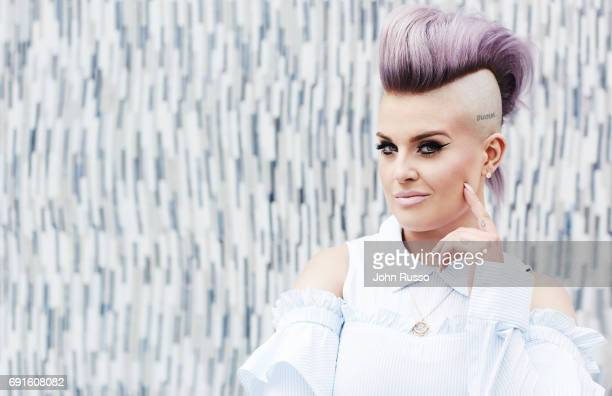 Television personality Kelly Osbourne is photographed for Bella Magazine on March 22 2017 in Los Angeles California