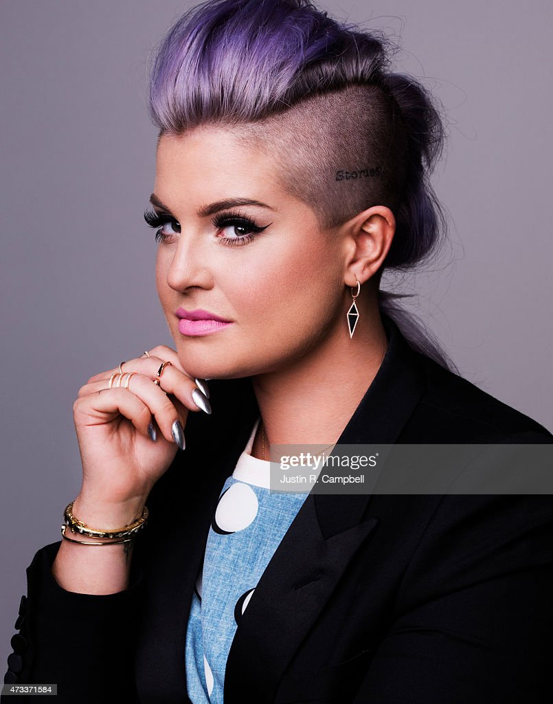 Television personality Kelly Osbourne poses for a portrait at the Radio Disney Awards for Just Jared on April 25, 2015 in Los Angeles, California.