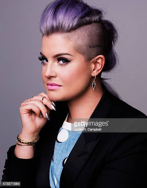 Television personality Kelly Osbourne poses for a portrait at the Radio Disney Awards for Just Jared on April 25 2015 in Los Angeles California