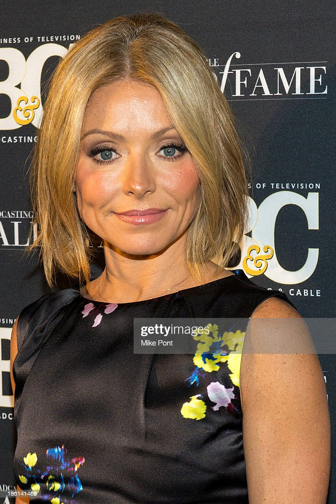Television Personality Kelly Ripa attends the Broadcasting and Cable 23rd Annual Hall of Fame Awards Dinner at The Waldorf Astoria on October 28, 2013 in New York City.