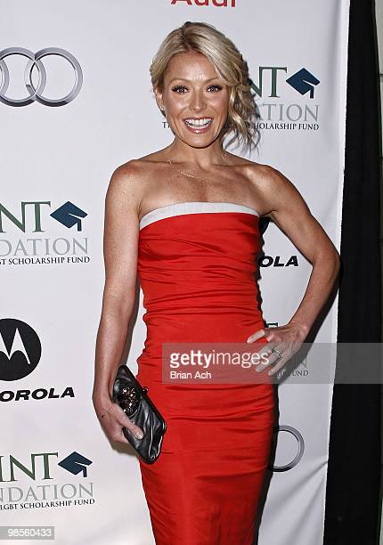 Television personality Kelly Ripa attends The Point Foundation's 3rd Annual Point Honors New York Gala at The Pierre Hotel on April 19 2010 in New...