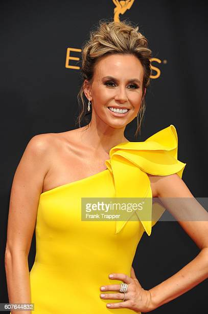 Television personality Keltie Knight attends the 68th Annual Primetime Emmy Awards at Microsoft Theater on September 18 2016 in Los Angeles California