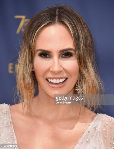 Television personality Keltie Knight attends the 70th Emmy Awards at Microsoft Theater on September 17 2018 in Los Angeles California