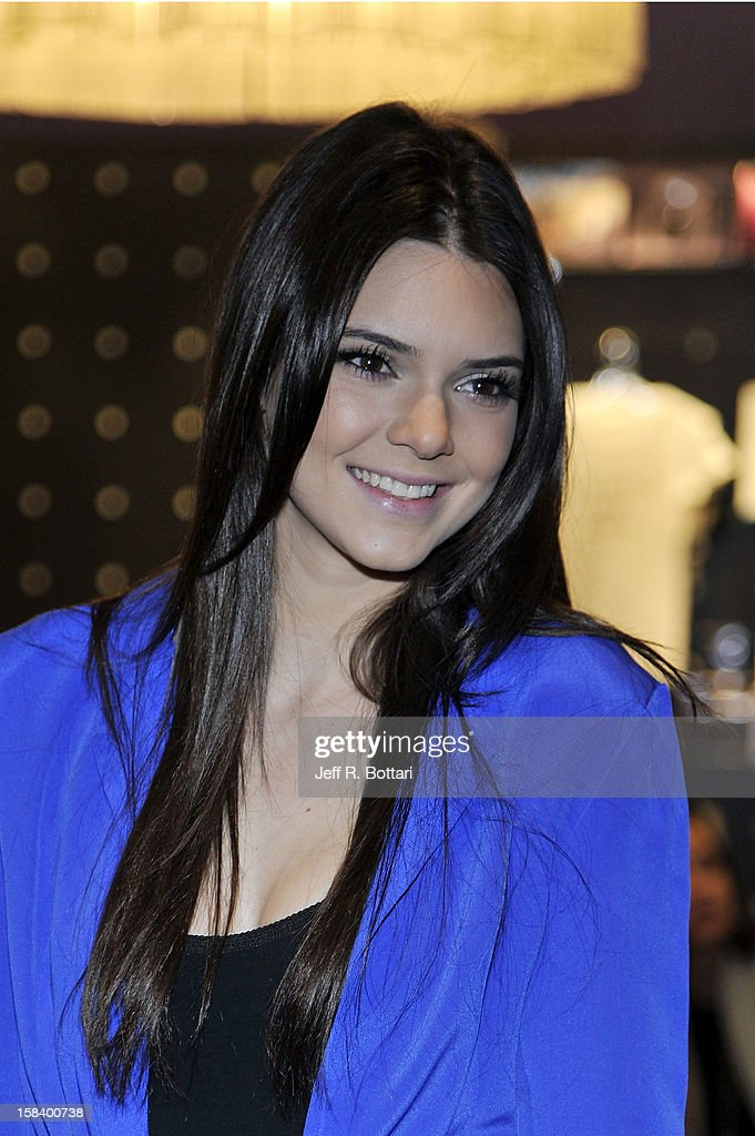 Television personality Kendall Jenner appears at the Kardashian Khaos store at The Mirage Hotel & Casino for a fan meet-n-greet on December 15, 2012 in Las Vegas, Nevada.