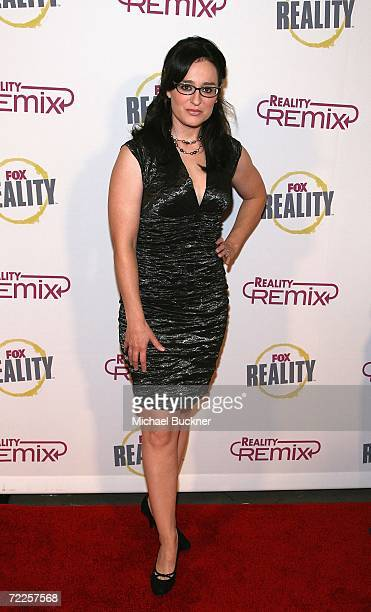 Television personality Kennedy arrives at the Reality Remix Really Awards at Les Deux on October 24 2006 in Los Angeles California