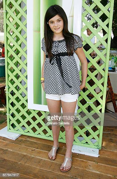 Television personality Kilie Jenner attends the Matrix at A Time for Heroes Celebrity Carnival Benefiting the Elizabeth Glaser Pediatric AIDS...