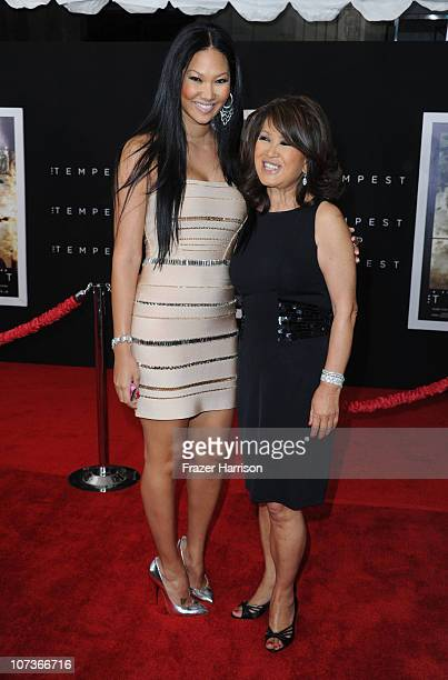 Television Personality Kimora Lee Simmons and her mother Joanne Kyoko Perkins arrive at the premiere of Touchstone Pictures and Miramax Films' 'The...