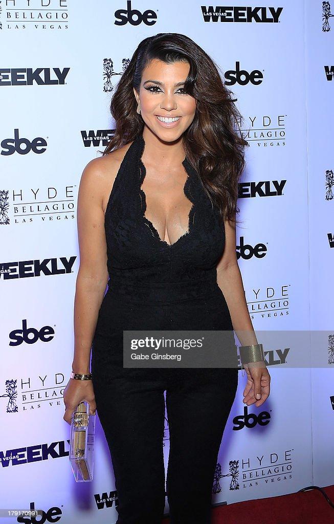 Kourtney Kardashian Hosts Labor Day Weekend Bash At Hyde Bellagio : News Photo