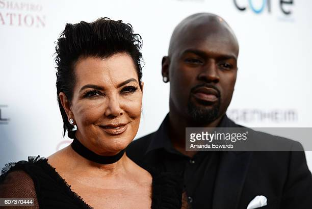 Television personality Kris Jenner and Corey Gamble arrive at the Annual Brent Shapiro Foundation for Alcohol and Drug Prevention Summer Spectacular...