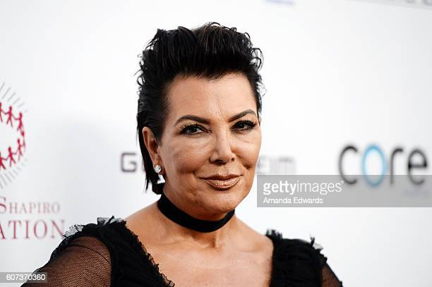 Television personality Kris Jenner arrives at the Annual Brent Shapiro Foundation for Alcohol and Drug Prevention Summer Spectacular on September 17...