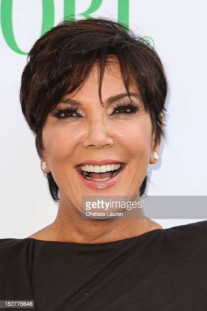 Television personality Kris Jenner attends the Midori Makeover Parlour hosted by Kim Kardashian at Fred Segal on September 25 2012 in Santa Monica...
