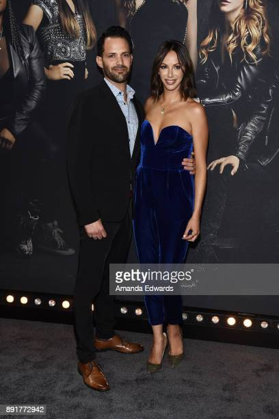 Television personality Kristen Doute and Brian Carter arrive at the premiere of Universal Pictures' 'Pitch Perfect 3' on December 12 2017 in...